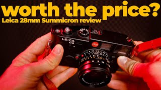 My most expensive lens ever | LEICA 28mm Summicron REVIEW