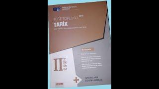 Dim Tarix Test Toplusu 2019 2 Ci Hissə Cavablari Youtube