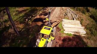 Forst Holzerei Trailer - Forstbetrieb Studenland