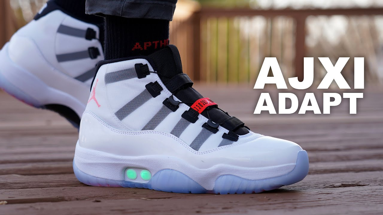 The Auto-Lacing AIR JORDAN 11 ADAPT Unboxing & Review