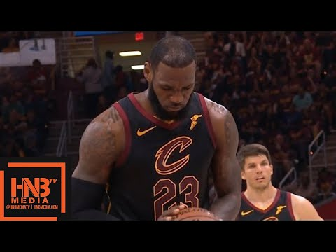Cleveland Cavaliers vs Boston Celtics 1st Half Highlights / Game 4 / 2018 NBA Playoffs
