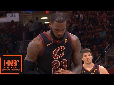 Cleveland Cavaliers vs Boston Celtics 1st Half Highlights / Game 4 / 2018 NBA Playoffs