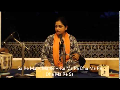 Rag Durga Lesson By Aradhana Karhade (WITH NOTATION!)