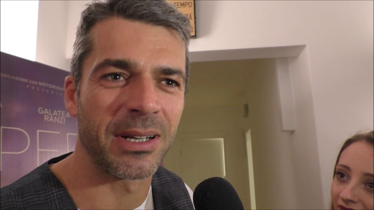 """Luca Argentero a Bari per """"Copperman"""" ( 8 febbraio 2019)"""