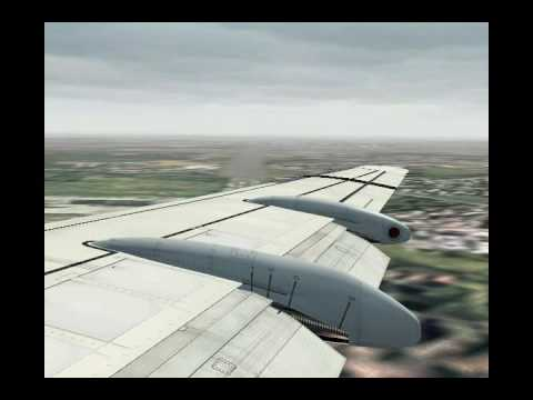 FS9 - KLM Cityhopper Fokker 100, Frankfurt - Amsterdam