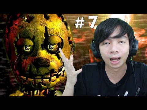 Five Nights at Freddy's 3 - Part 7 Night 5 (END)