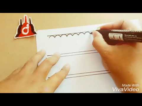 Cara Membuat Motif Batik Parang Dan Kawung Sangat Mudah By Irwan Henna Youtube
