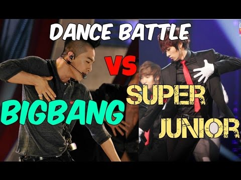 Super Junior vs BIGBANG Dance Battle!!! 2016 Batalla de Baile!! 2016