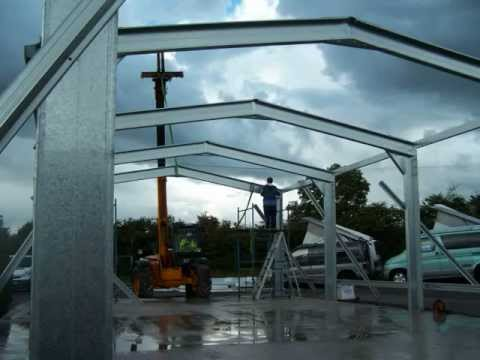 Large Sheds From The Quality Steel Building Range