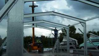 Large Sheds From The Quality Steel Building Range.