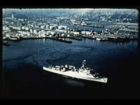 U.S. Military's Secret Arctic Expeditionary Mission 1955  - Vintage Documentary Video