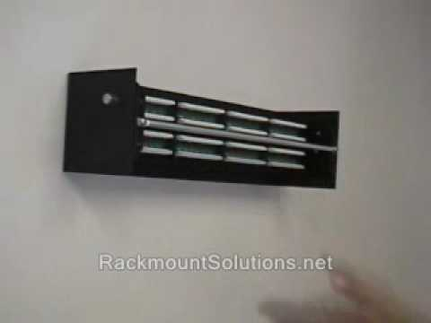EZ Mount - Wall Mount Patch Panel Bracket, Swivel Patch ...