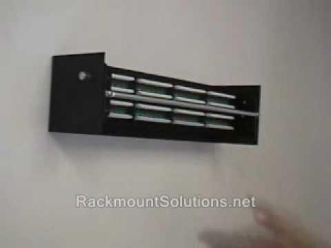 Ez Mount Wall Mount Patch Panel Bracket Swivel Patch