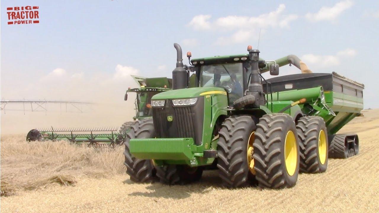 Download Big Grain Cart Tractor  | JOHN DEERE 9570R