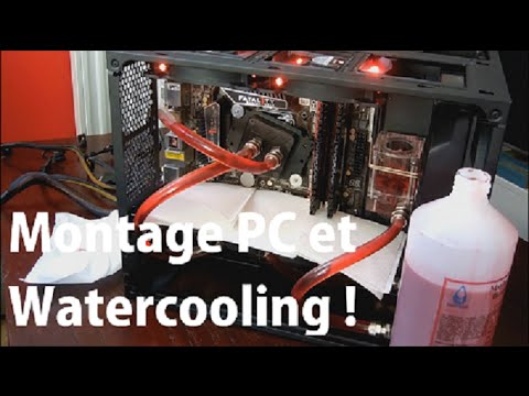 montage pc gamer avec watercooling doovi. Black Bedroom Furniture Sets. Home Design Ideas