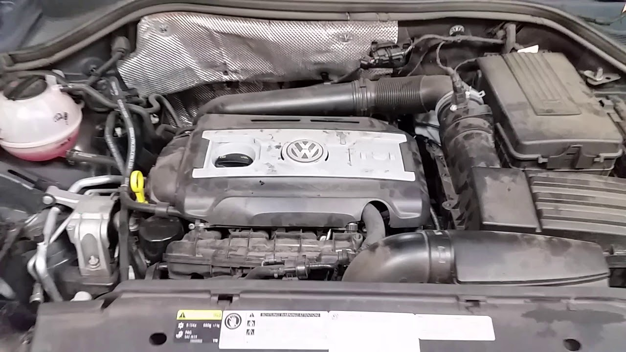 2009-2017 VW Tiguan 2.0L TSI Turbo I4 Engine Idling After ...
