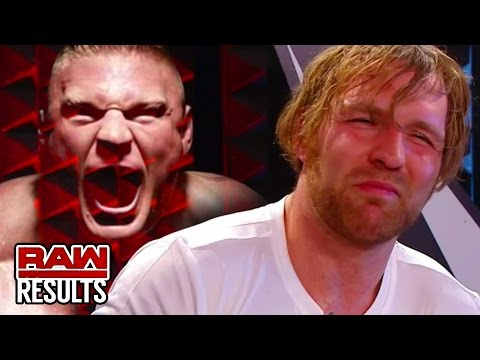 AMBROSE SHOOTS ON BROCK! WWE Raw Results 8/8/16 (Going In Raw Pro Wrestling News Podcast Ep. 87)
