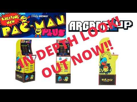 New Arcade1up: In Depth Look at Pac-man Plus from PsykoGamer