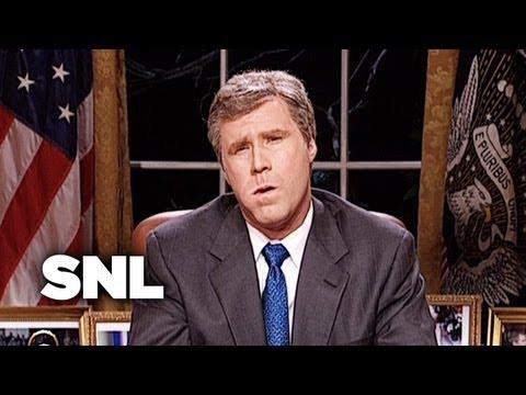 President George W. Bush on Bombing Iraq - SNL