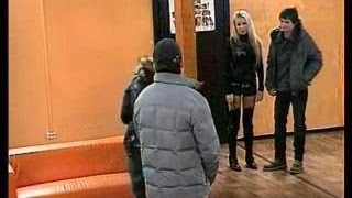 Ekaterina Korol Dom 2 first day ( black long nails )