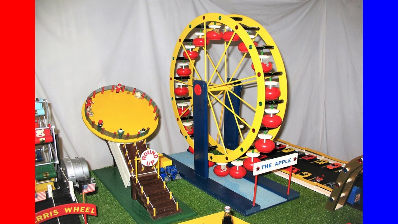 10 Awesome Model Fair Rides and Homemade Carnival Midway Tribute