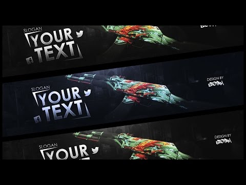 CSGO Youtube Banner/Template | FREE Download
