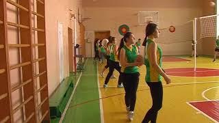 Урок фізичної культури у 10 класі, модуль волейбол, вчитель Ковальова Тетяна Миколаївна