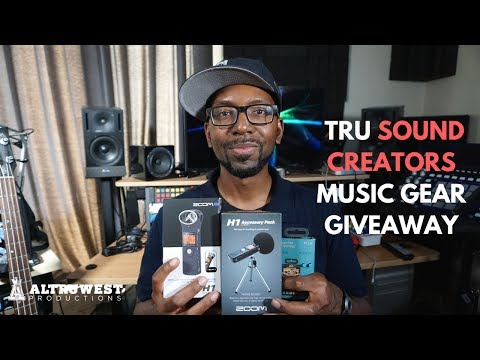 (Closed) Music Gear Giveaway: Zoom H1, Teenage Engineering Pocket Operator and More!