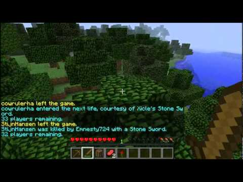 Minecraft Solo Hunger Games Tournament Pt 1