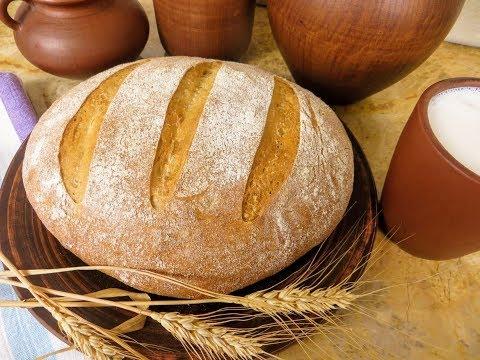 Рецепт хлеба на закваске в духовке в домашних условиях