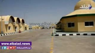 محافظ أسوان يتفقد منفذ أرقين البري على الحدود السودانية..فيديو وصور