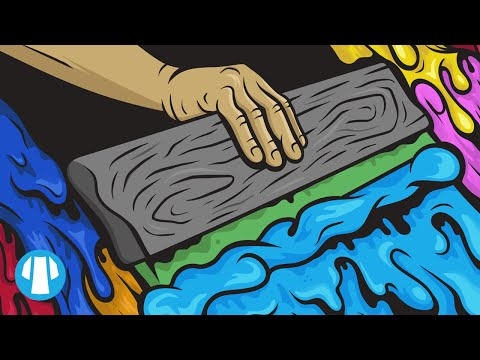 Speed Art | Screen Printing Artwork