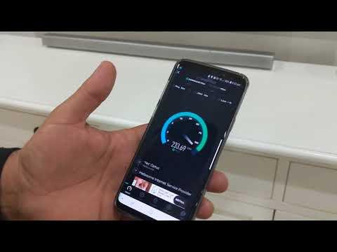 Melbourne Internet Service Provider - Burnside, Melbourne Speed Test (wirelessFibre)