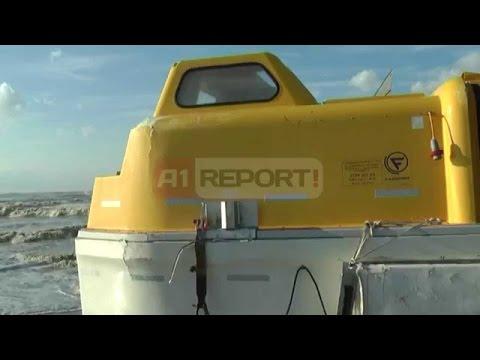 """A1 Report - 2 varkat e shpëtimit për pasagjerët e """"Norman Atlantic"""" në Seman"""