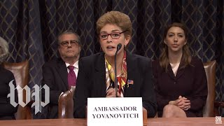 SNL gives impeachment hearings a soap-opera spin