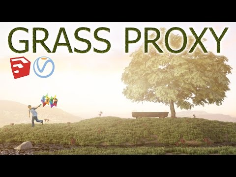 how to make vray proxy