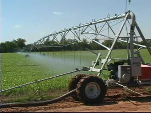 REINKE - Lateral Move Irrigation Systems - YouTube