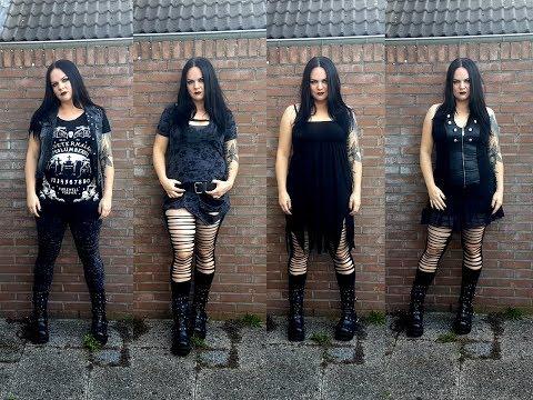 Metal fashion: summer lookbook #1