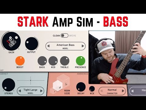 How to use STARK amp sim for BASS - GarageBand iOS (iPad)