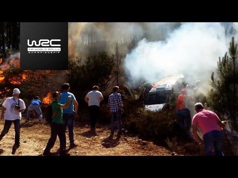 WRC - Vodafone Rally de Portugal 2017: Review 2016 / fire drama