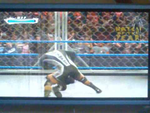 Smackdown vs Raw 09 Steel Cage Mvp vs Edge