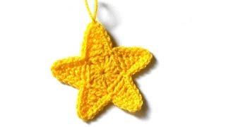 Желтая звездочка с разновысокими столбиками