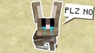 I Killed A Bunny 🐇😢  Minecraft Hardcore Noodle Planet 3