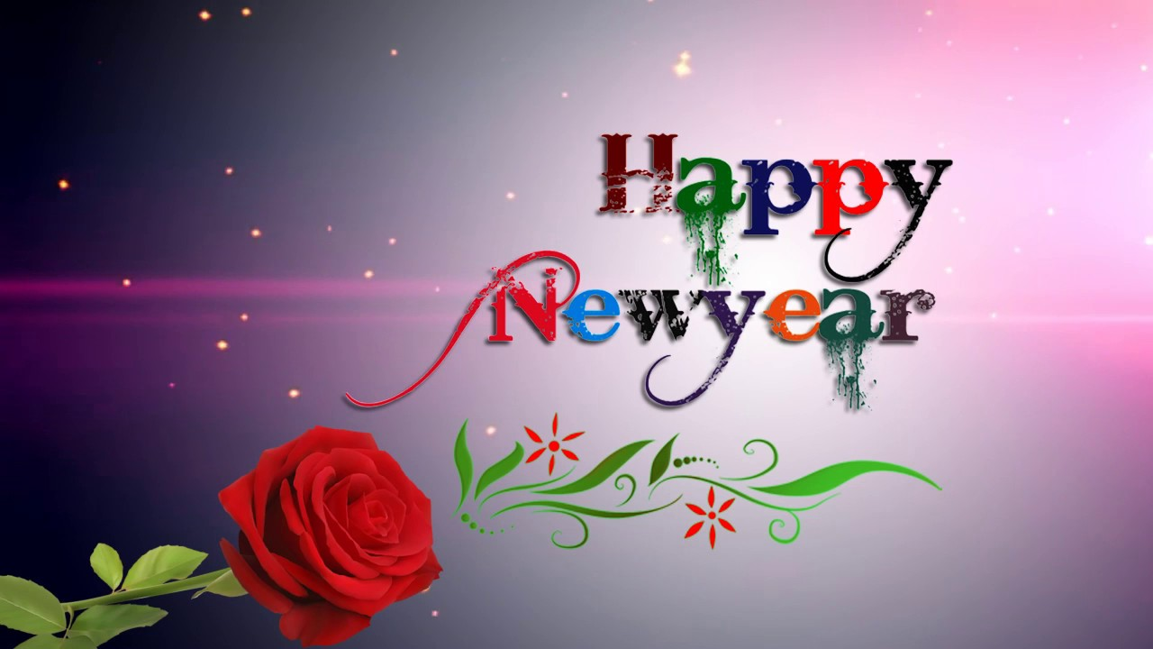 Happy New Year Background Slow Motion Animated & Whatsapp ...