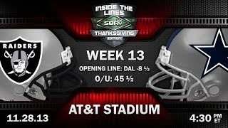 NFL Thanksgiving Preview | Oakland Raiders vs Dallas Cowboys NFL Week 13 Picks w/ Joe Duffy, Loshak