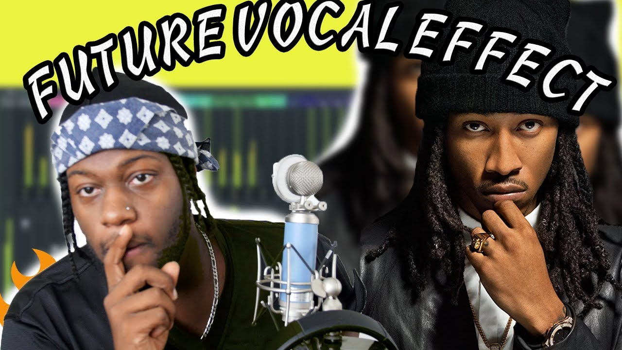 How To Sound Like Future Vocal Effect Tutorial! FL Studio