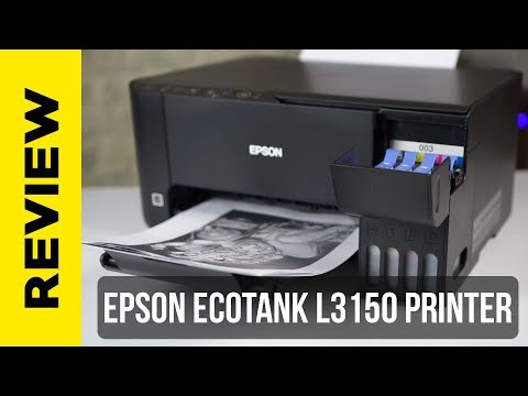 Epson L3150 WiFi Printer for Home and Office - Review - YouTube