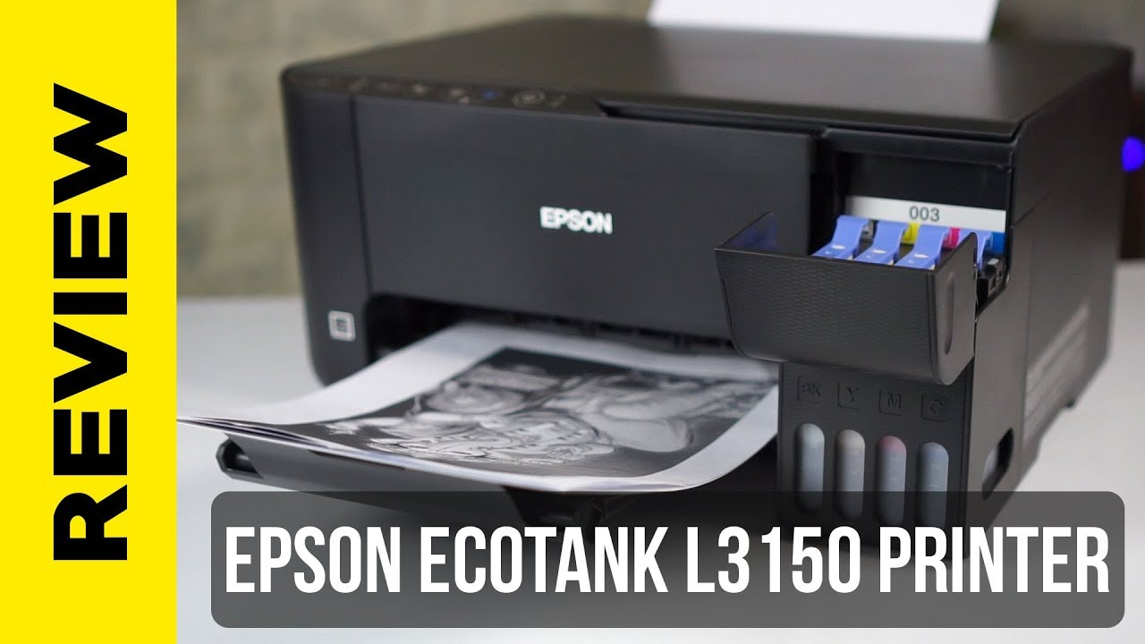 Epson L3150 WiFi Printer for Home and Office - Review