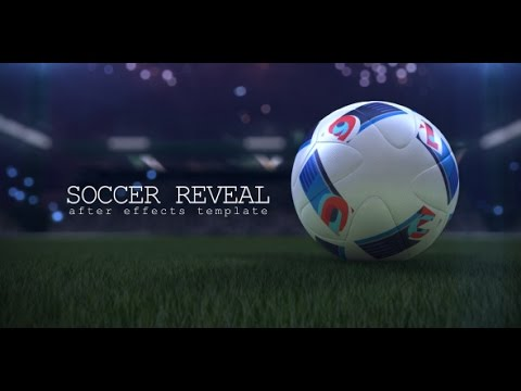 Soccer Ball Reveal After Effects template - YouTube