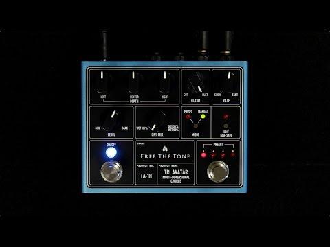 Free The Tone Tri Avatar Multi-Dimensional Chorus Demo (Mono/Stereo) - BestGuitarEffects.com